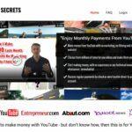 YouTube Secrets - Landing Page