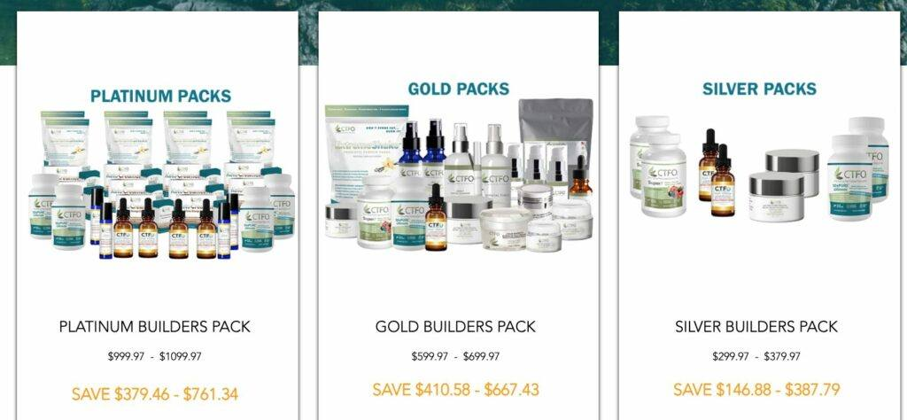 is CTFO a scam - business builder packs
