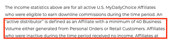 is hempworx a scam - disclaimer