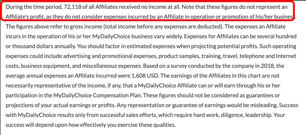 is hempworx a scam - no income