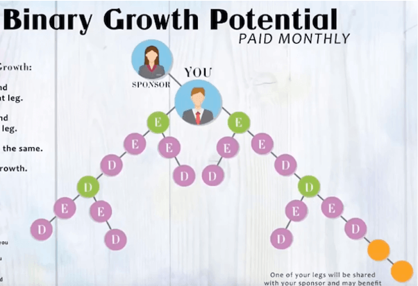 is hempworx a scam - pyramid features