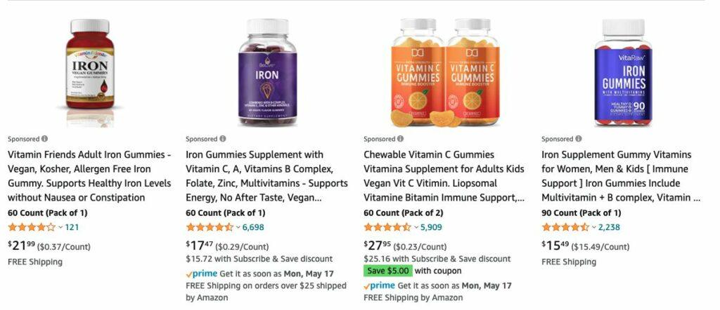 is natures sunshine a scam - amazon alternatives