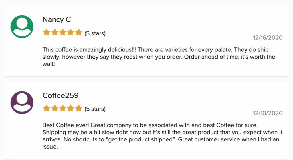 java-momma-positive-reviews