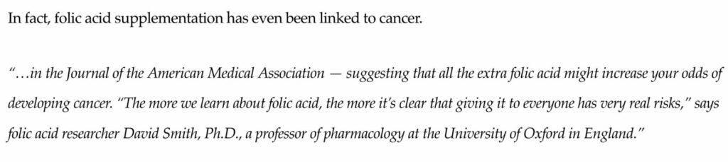 is-beachbody-a-scam-folic-acid-link-cancer