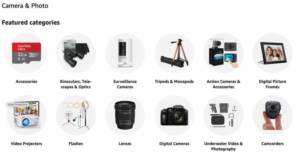 niche-website-ideas-amazon-categories