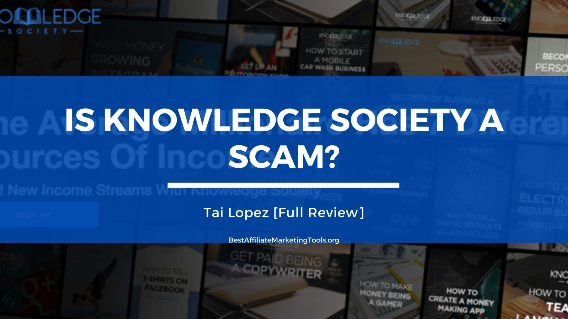 Is Knowledge Society a Scam