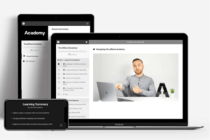What is Affluent Academy - Landing Page