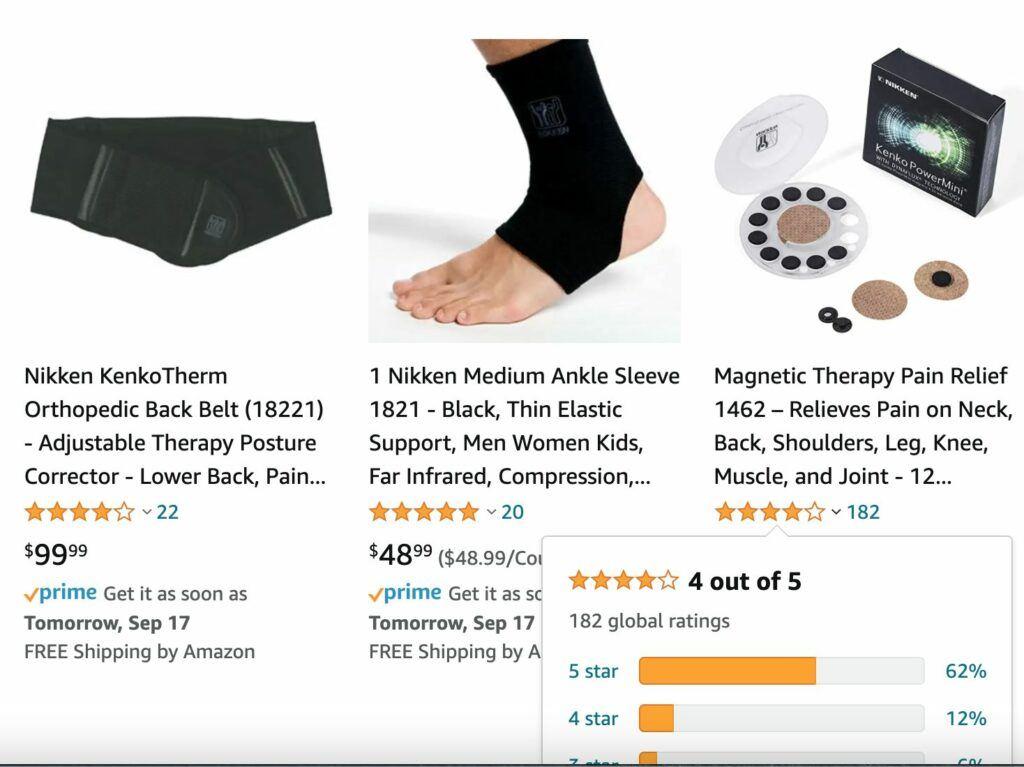 nikken-amazon-product-reviews