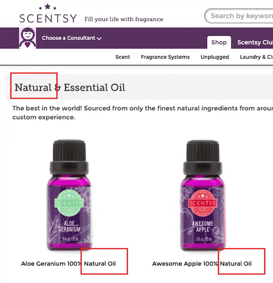 scentsy-natural-products-claims