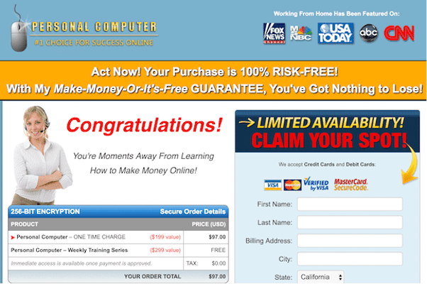 second-income-center-salespage